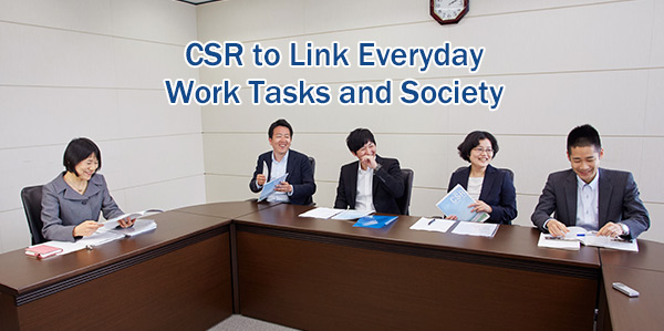 CSR to Link Everyday Work Tasks and Society