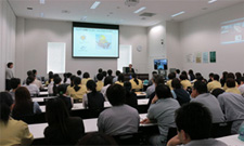 Lecture at the Yokkaichi Plant