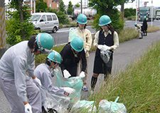 Cleaning Highway 16 (Chiba Plant)