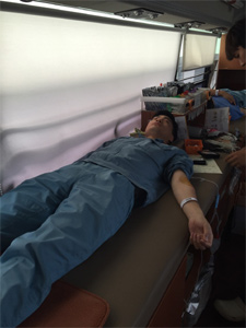 JSR Micro Korea Co., Ltd. participates in blood donation activities