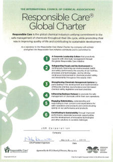 Declaration of support for RC Global Charter
