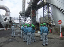 Training conducted as the Yokkaichi Plant